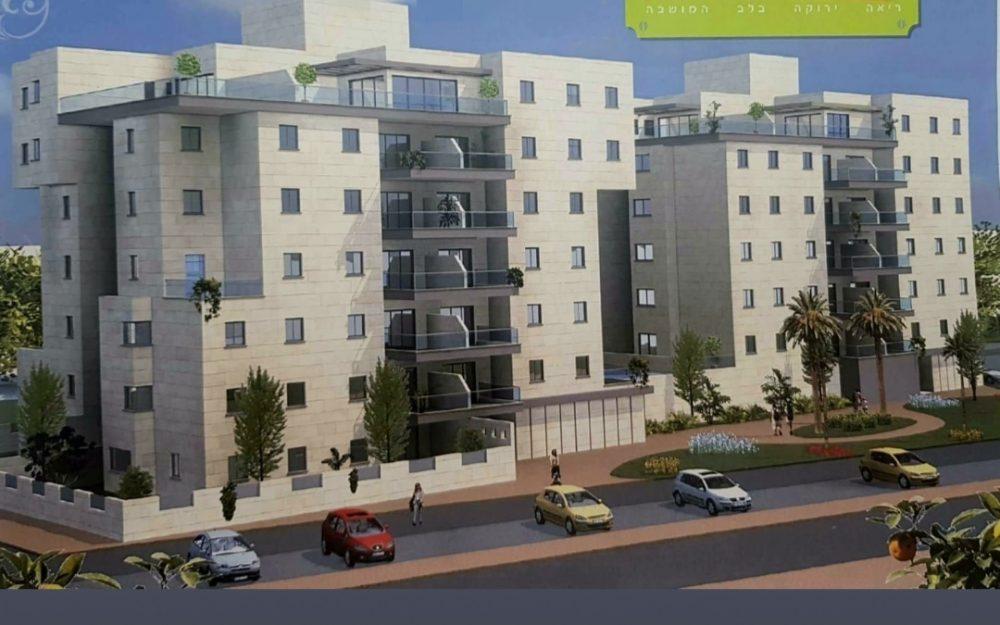 דירת 5 חדרים בבניין בוטיק חדש בנוף המושבה.חדש